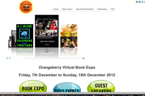 Orangeberry Book Expo Dec 2012 - Almost a Turkish Soap Opera