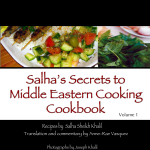 ebook edition Salha's Secrets to Middle Eastern Cooking Cookbook by Anne-Rae Vasquez
