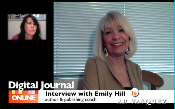 Digital Journal Interview – Emily Hill author, publishing coach, founder of Kindlegate