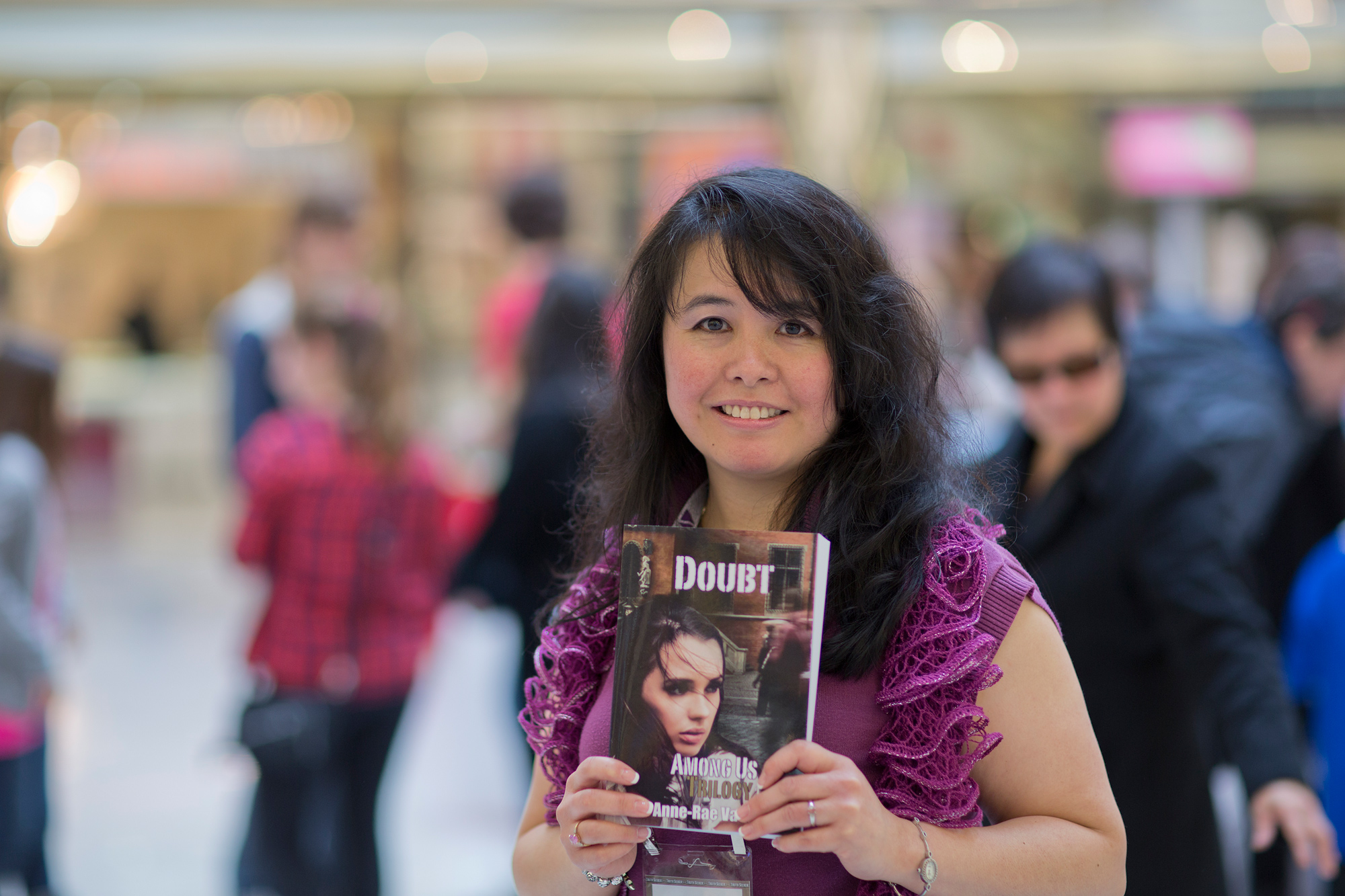 author of Doubt, Among Us Trilogy is launched at Raindance Book Festival