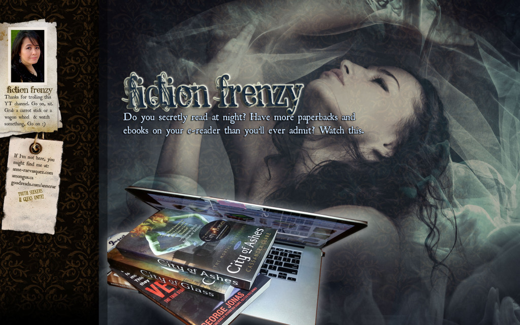 #Watch Fiction Frenzy – a new VLog show featuring YOLO authors