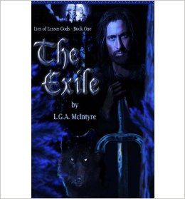 The Exile (Lies of a Lesser God) by LGA McIntyre