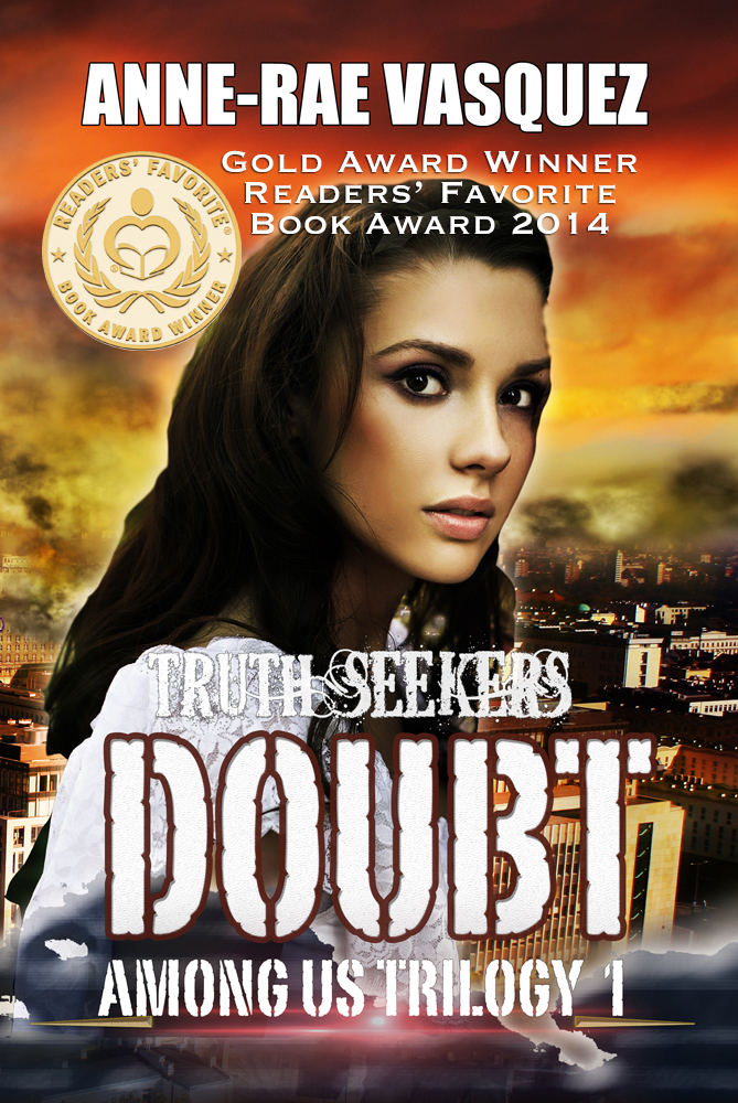 Doubt strikes Gold in Readers' Favorite Book Awards
