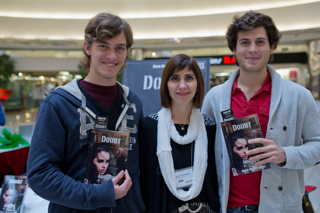 Josefina, developmental editor of Doubt with awesome fans
