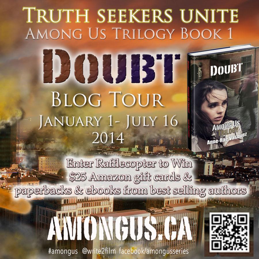 Among Us Trilogy Book Blog Tour 2014