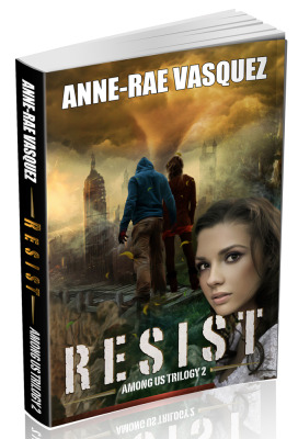 RESIST, book 2 of Among Us Trilogy is released